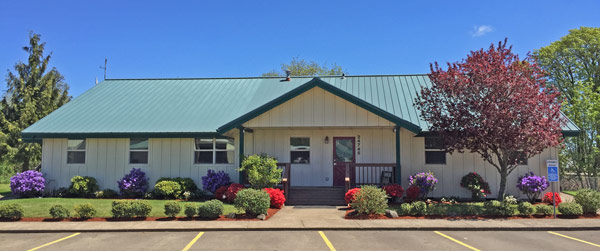 Miller Timber office in Philomath