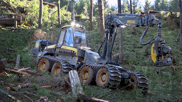 Tethered Logging Equipment