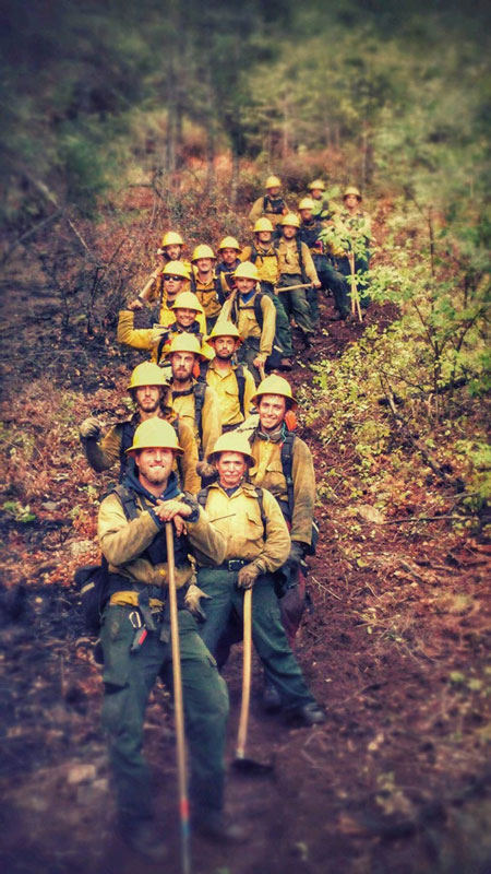 Miller Timber Services Wildland Firefighters